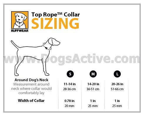 Ошейник Ruffwear® Top Rope™ Collar